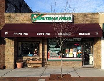 Minuteman Press: 19 Sheridan Ave, Ho Ho Kus, NJ