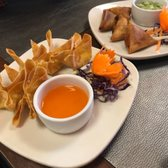 Photo Of Red Orchid Pittsburgh Pa United States Crab Rangoons And Their