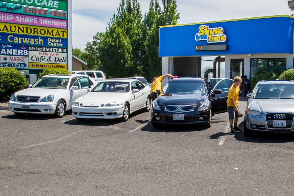 Shine In No Time 37 Photos Amp 75 Reviews Car Wash 316 Se 123rd Ave Vancouver Wa United