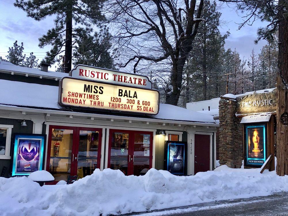 Rustic Theatre: 54290 N Cir Dr, Idyllwild, CA