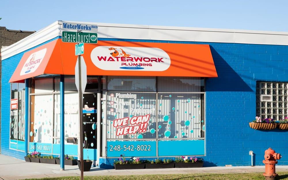 WaterWork Plumbing: 1049 Hilton Rd, Ferndale, MI
