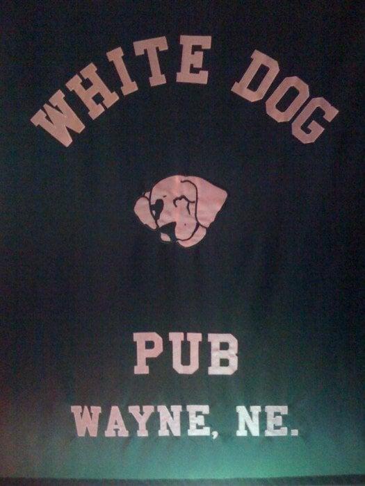 White Dog Pub: 102 Main St, Wayne, NE