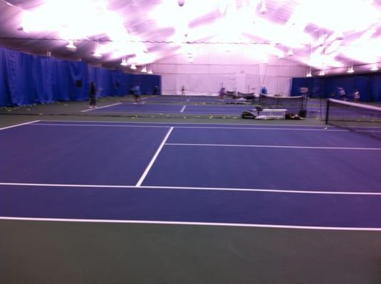 contact match point tennis