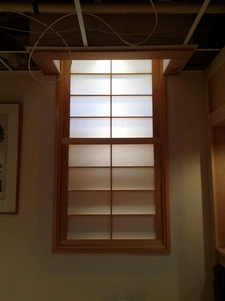 Double hung vertically sliding shoji window screens yelp for Noble windows