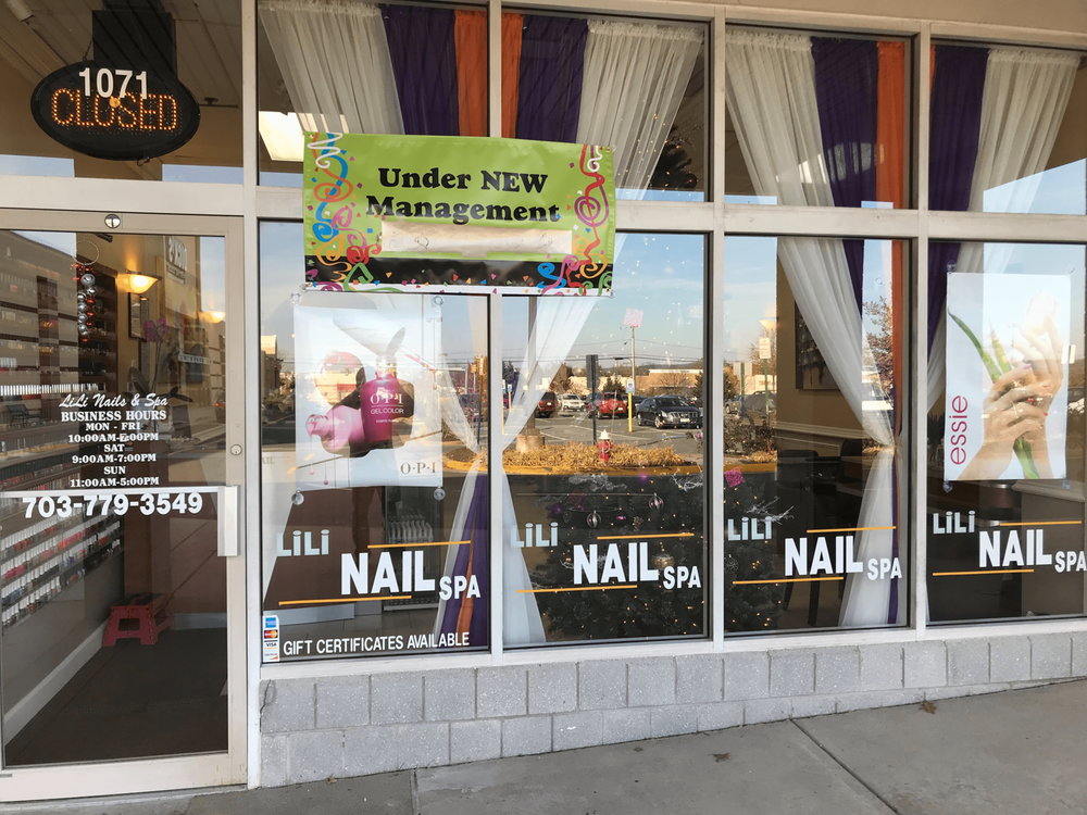 Li Li Nail Spa: 1071 Edwards Ferry Rd NE, Leesburg, VA