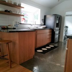Photo Of Jones Custom Cabinets San Jose Ca United States Cherry Wood Reface