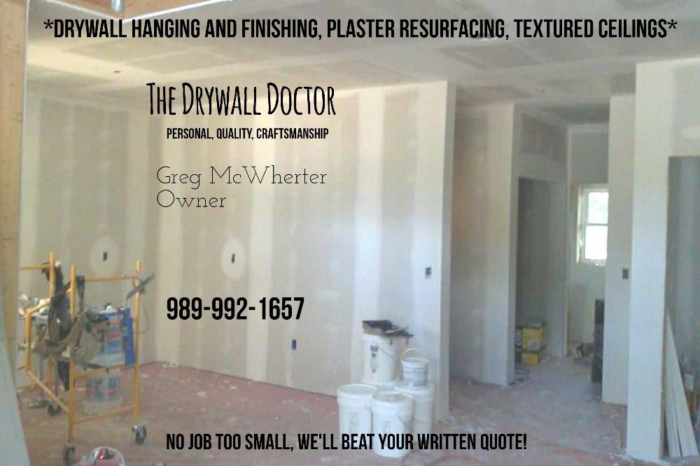 The Drywall Doctor: Kawkawlin, MI