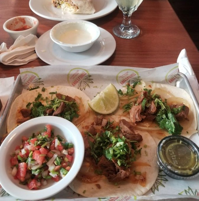 Food from Tequila's Town