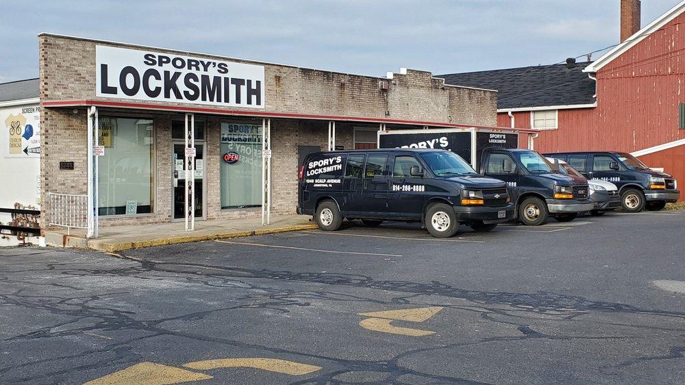 Spory's Locksmith: 1248 Scalp Ave, Johnstown, PA