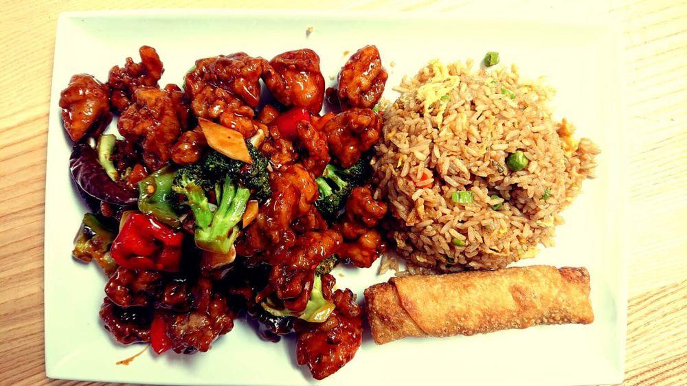 Food from JaJa Cafe