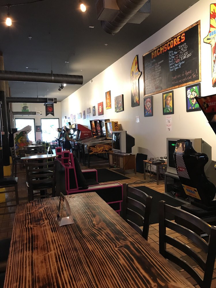 Reboot Retrocade & Bar: 566 Cherry St, Macon, GA