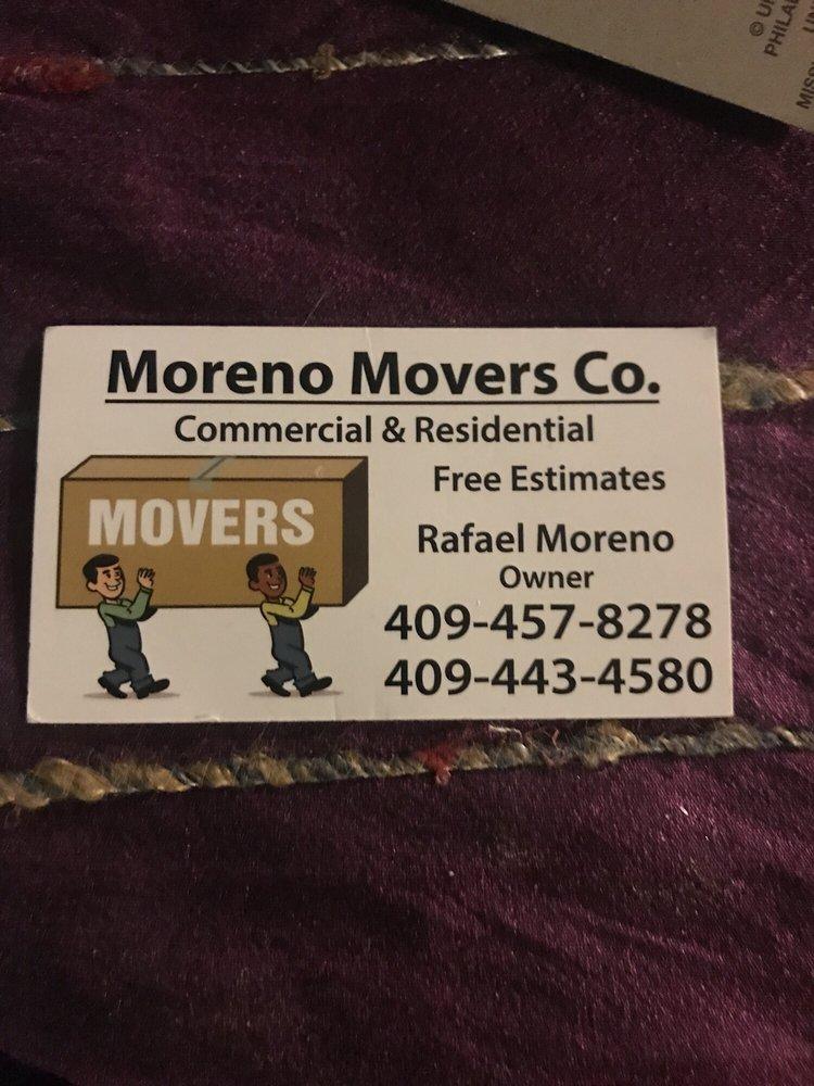 Moreno Movers: La Marque, TX