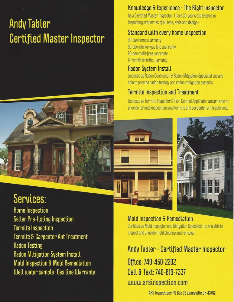 ARS inspections: Zanesville, OH