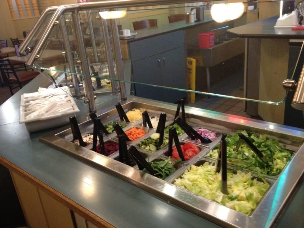 30 item salad bar! - yelp