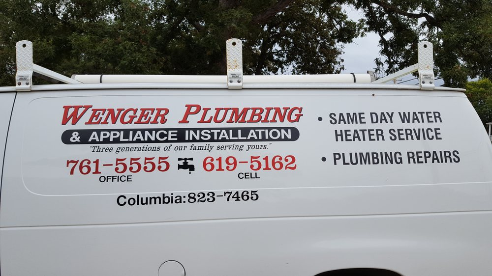 Wenger Plumbing & Appliance Installation: 4718 Rainbow Dr, Jefferson City, MO