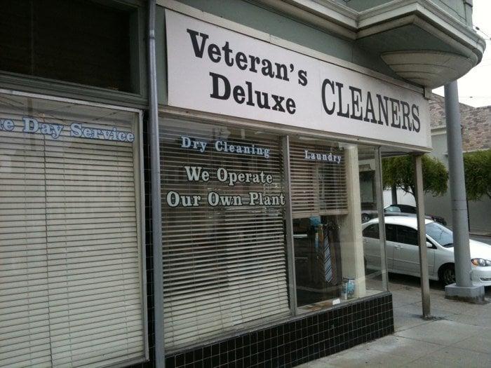Veteran's Deluxe Cleaners