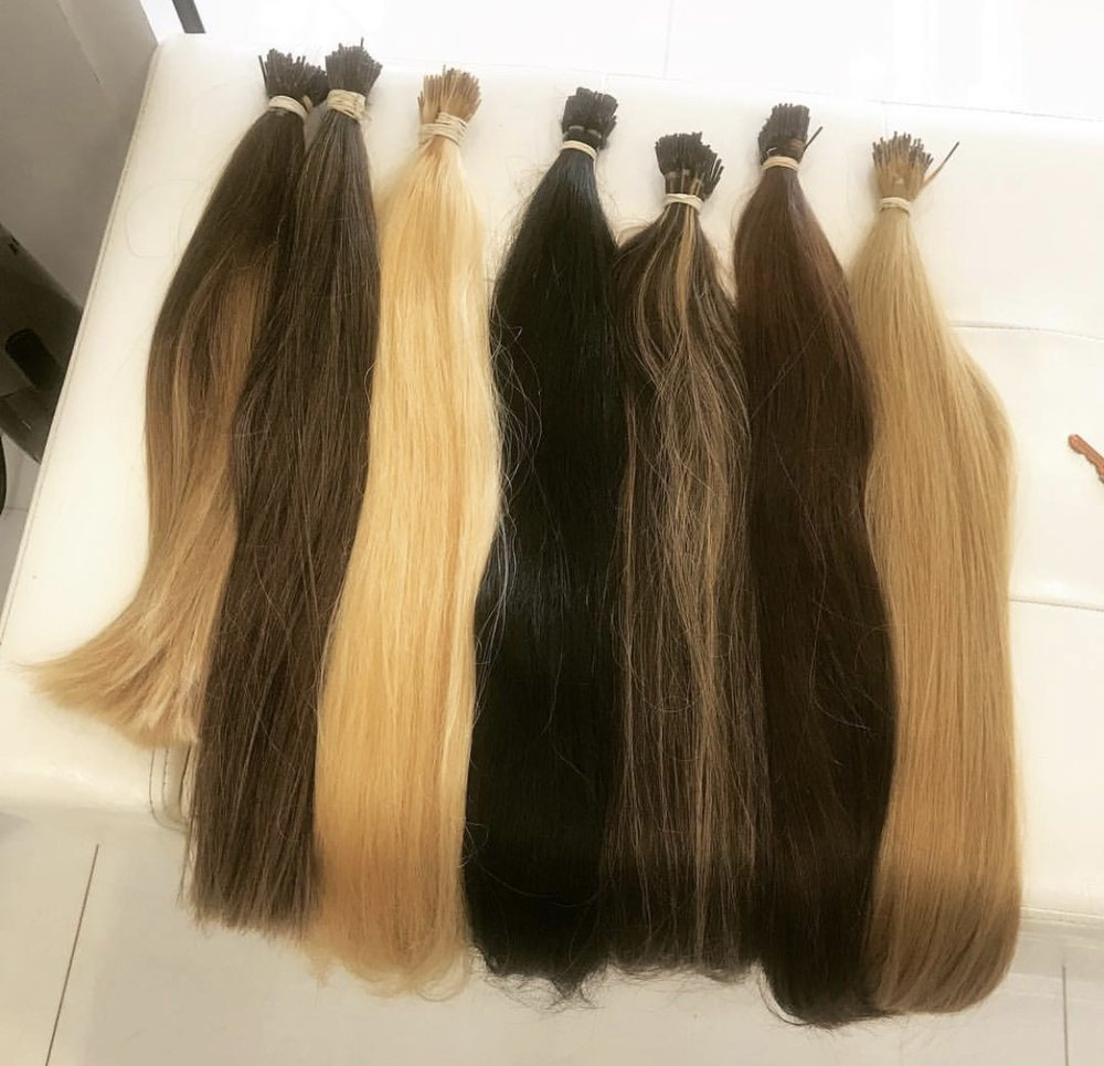 100 Real Human Hair Extensions These Can Be Dyed To Your Hair