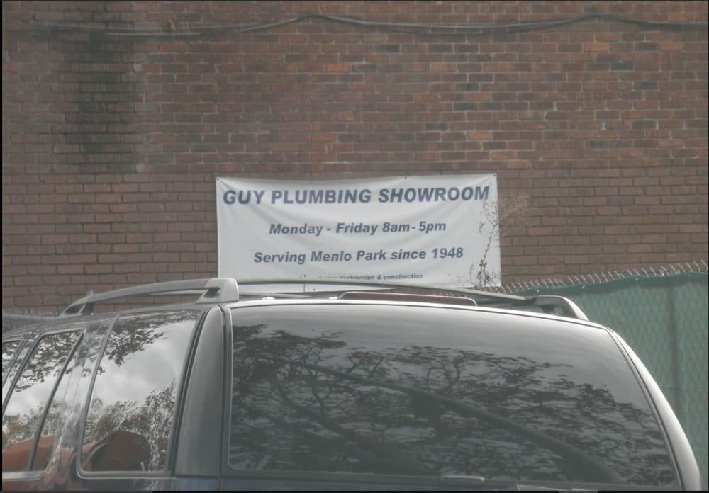 Sewer Repair In Menlo Park: Guy Plumbing And Heating Show Room Traveling South On El