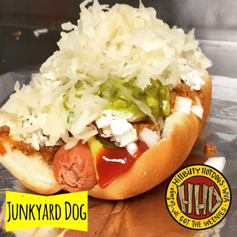 Hillbilly Hot Dogs: 6951 Ohio River Rd, Lesage, WV