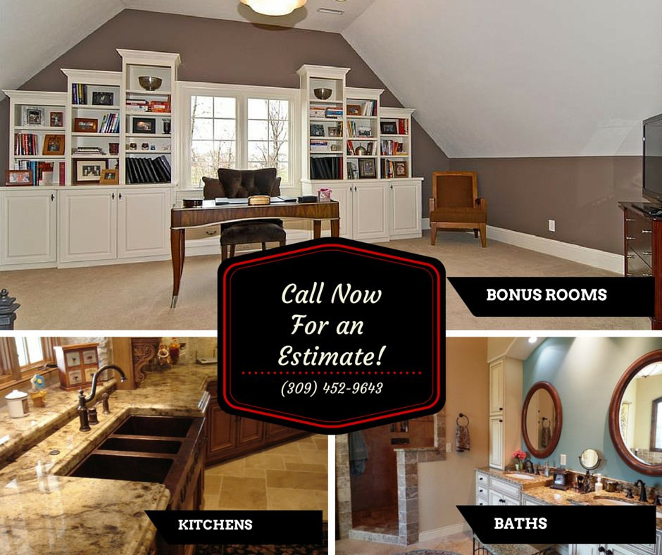 Kitchen Update Cost Estimate: From Kitchens And Baths To Bonus Rooms, We Can Do It All