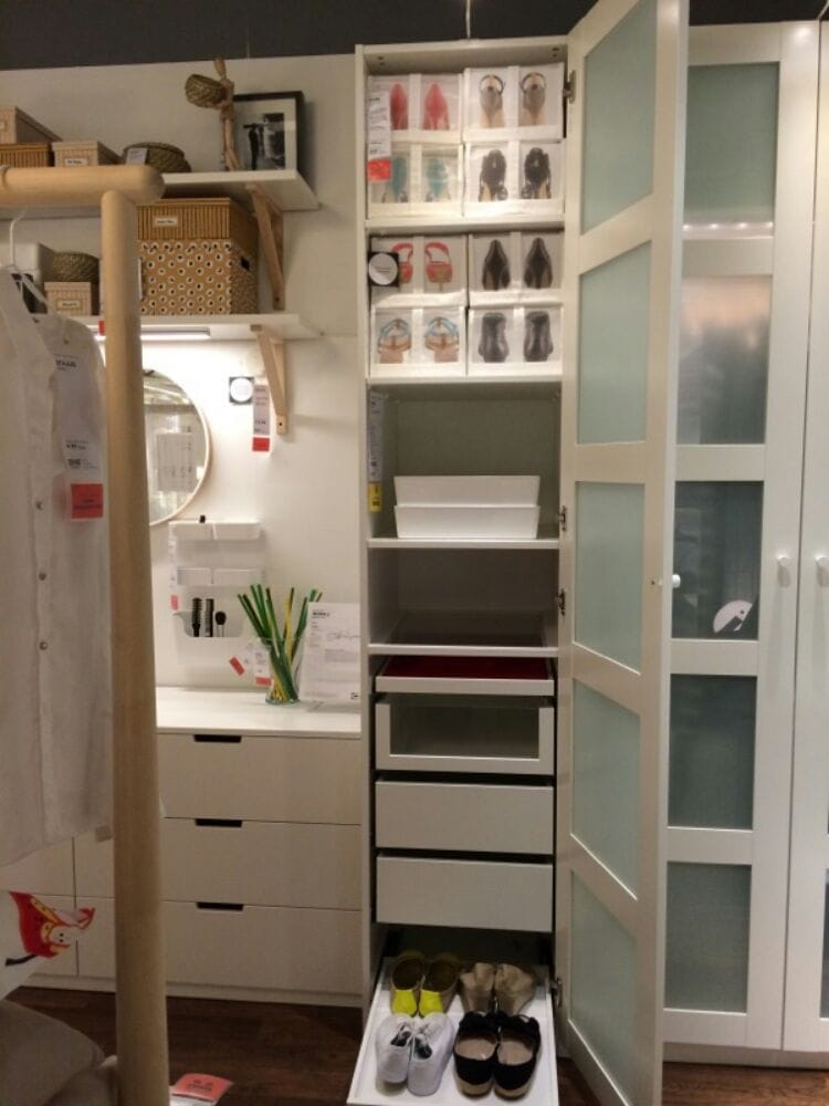 ikea pax system display compact yelp. Black Bedroom Furniture Sets. Home Design Ideas