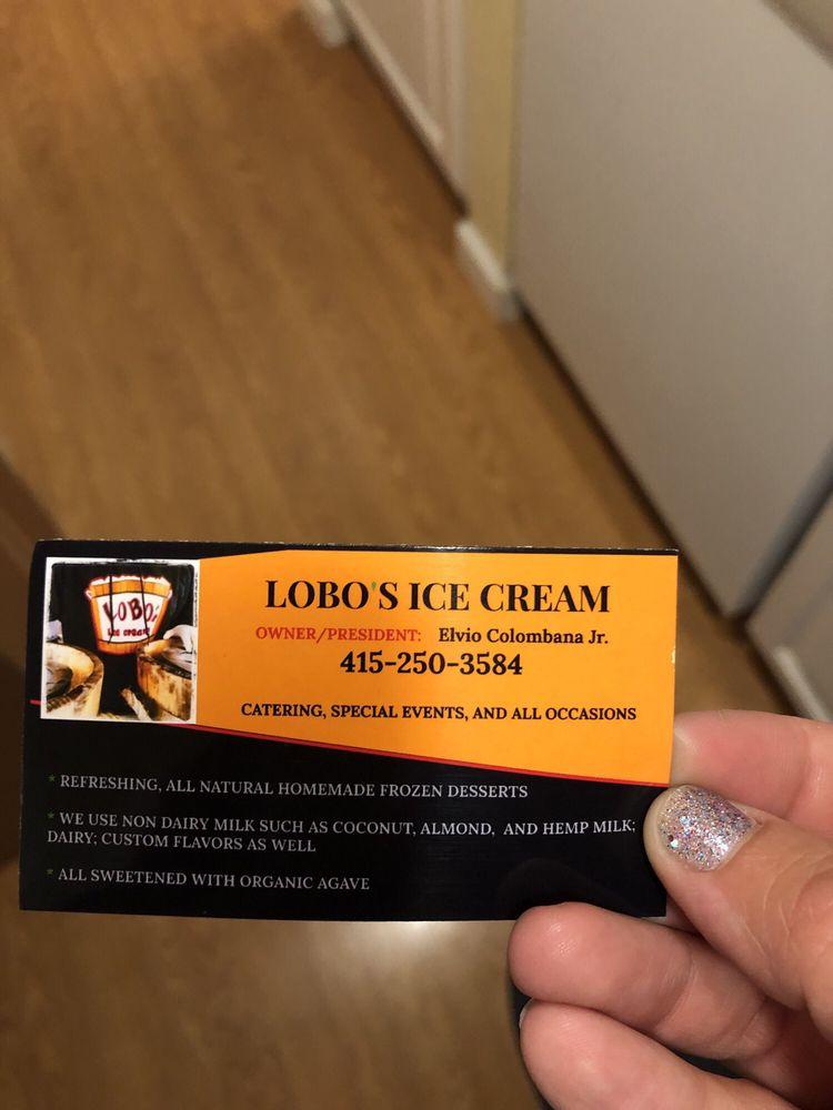 Lobo's Ice Cream: Novato, CA