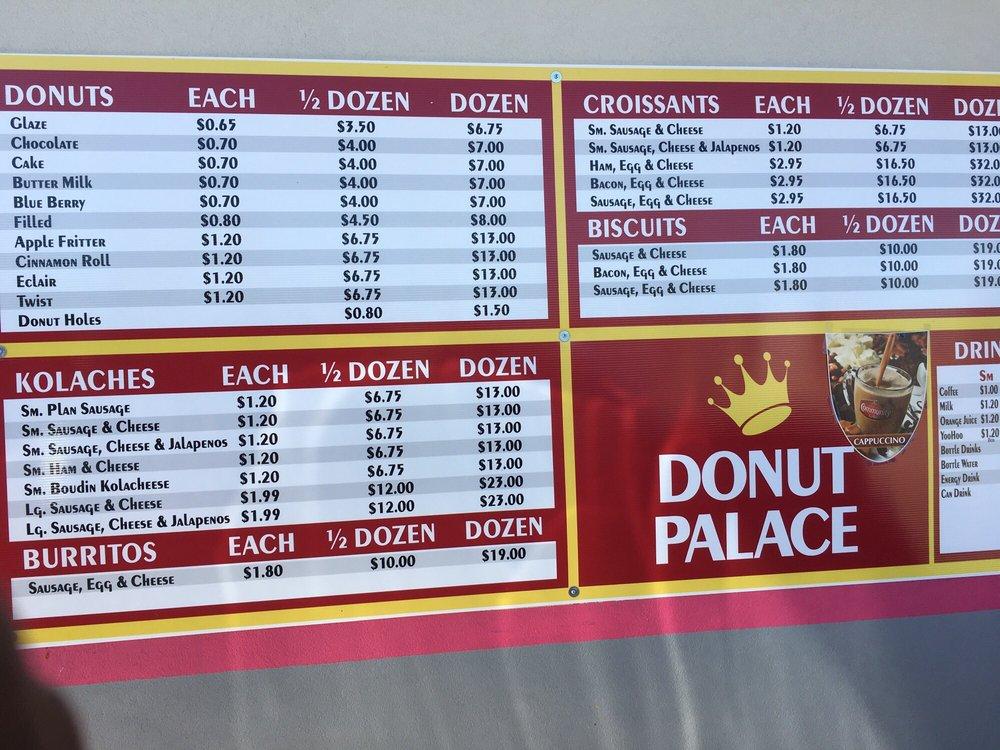 Donut Palace: 822 N Burnside Ave, Gonzales, LA