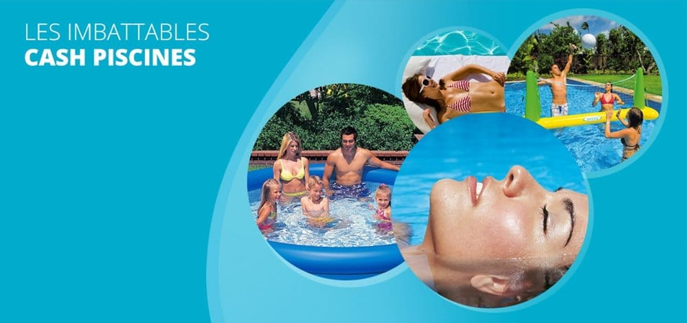 Cash piscines pool hot tub 2 rue evariste galois for Piscine bouguenais