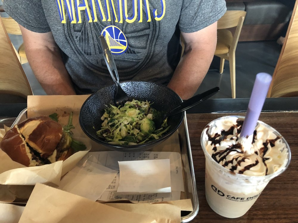 Food from Burger & Bowl