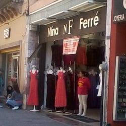 Nina Ferré Vestidos Womens Clothing Centro León