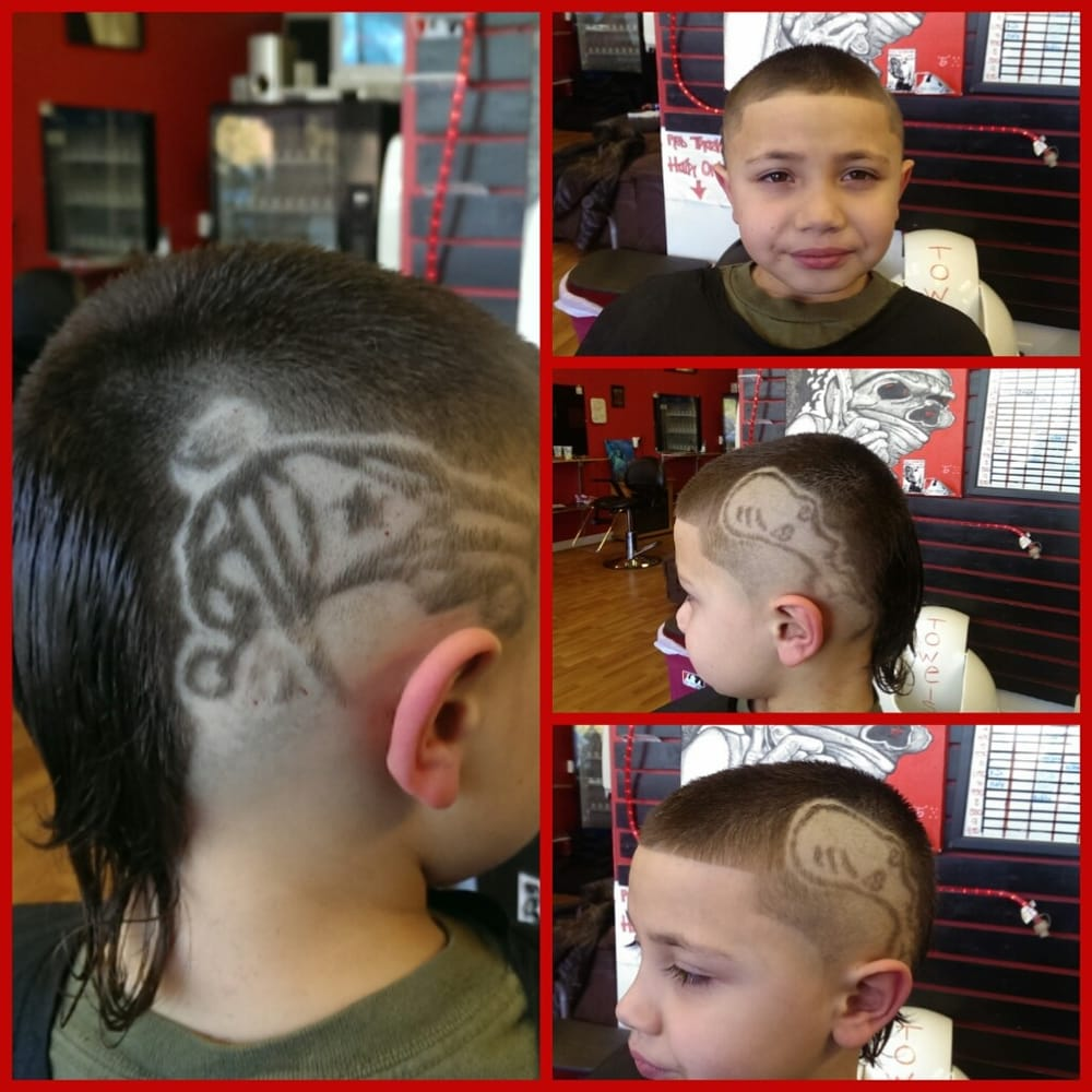 puerto rican haircuts roger from american and the flag done by 1068 | o