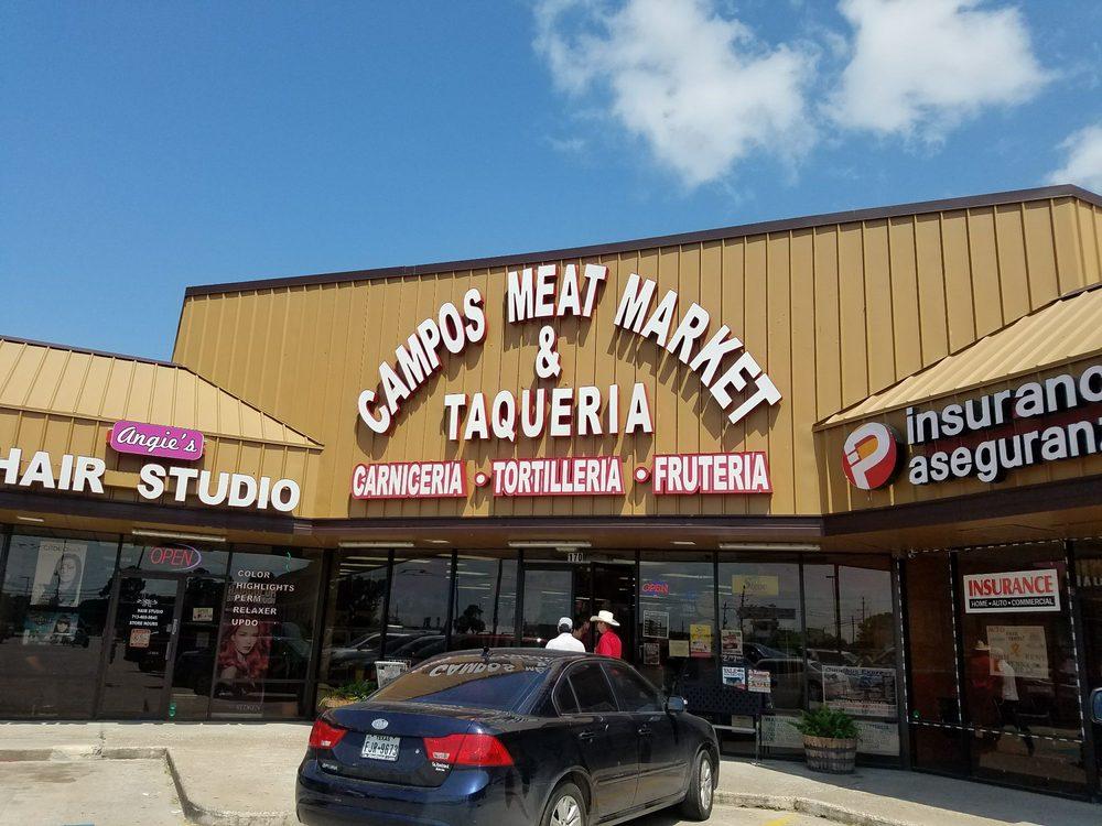 Campos Meat Market & Taqueria: 14045 Fm 2100 Rd, Crosby, TX