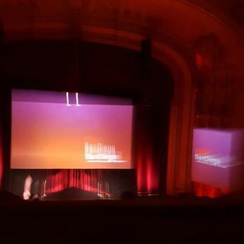 Photo Of Copley Symphony Hall San Go Ca United States Inside Auditorium