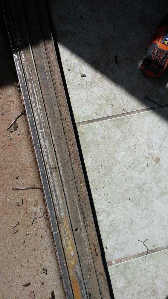 Old Sliding Glass Door Bottom Track Yelp