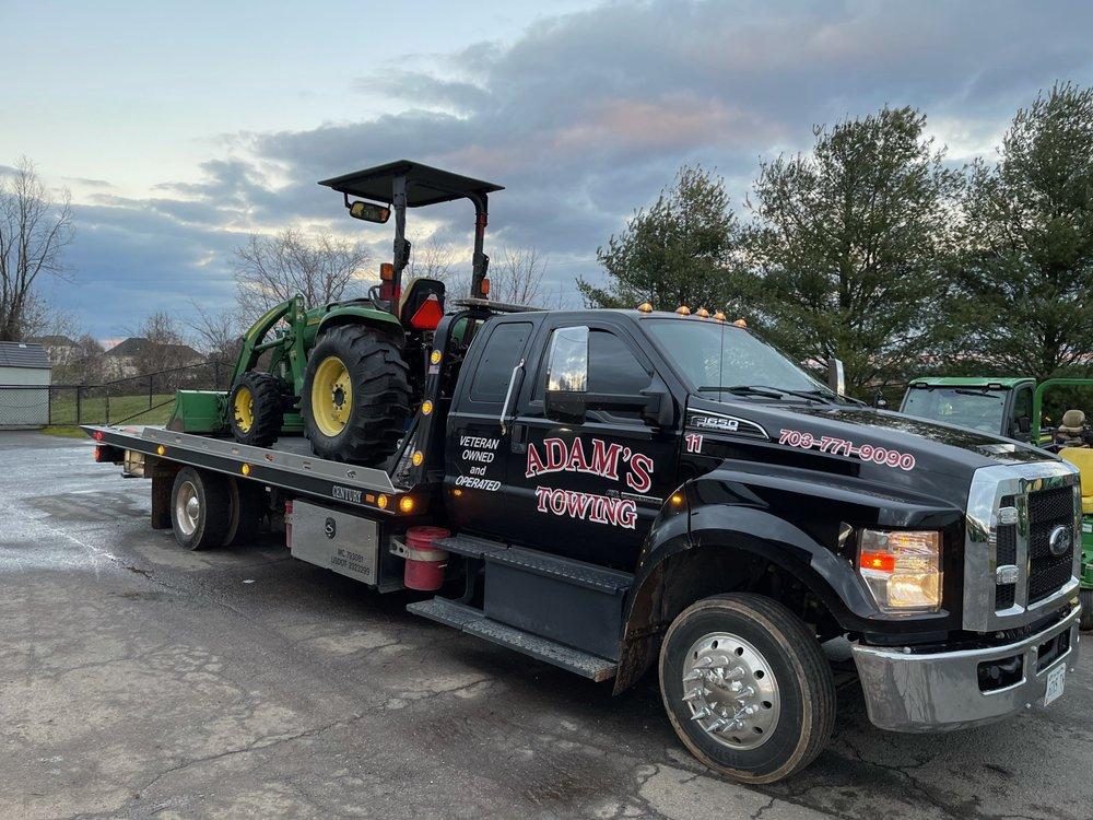 Towing business in Lansdowne, VA