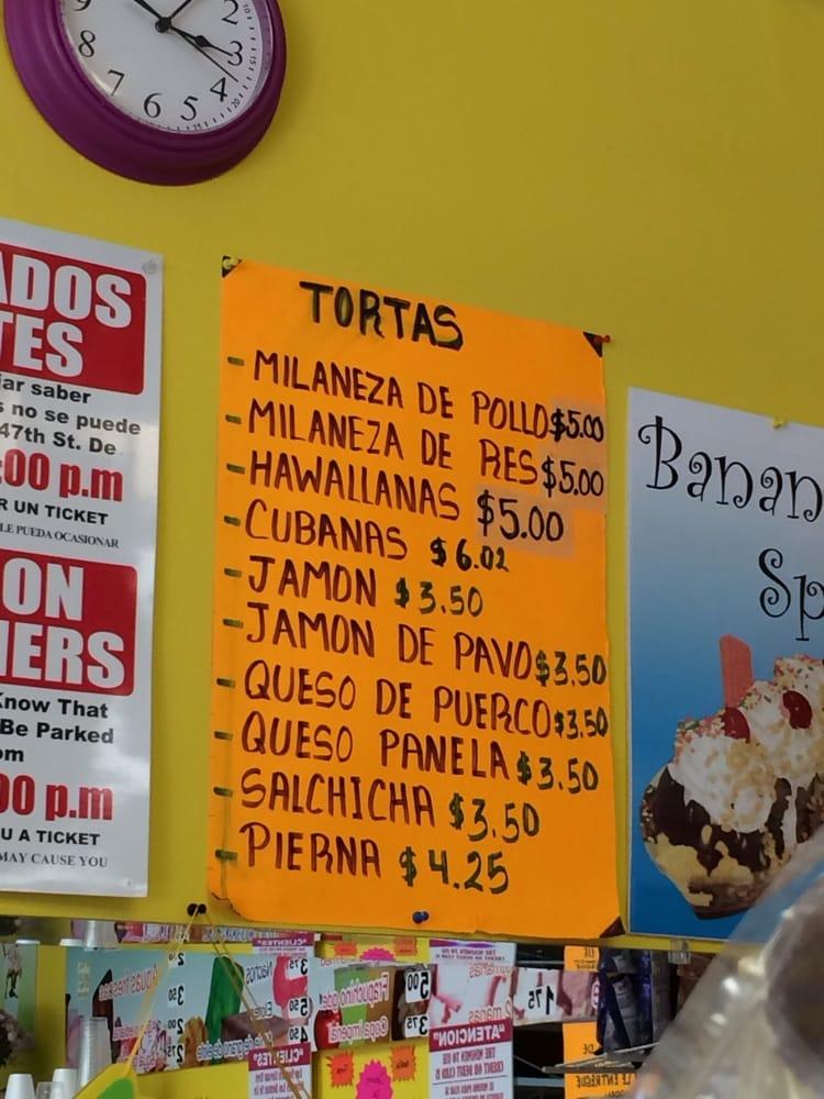 Love The Torta Con Queso De Puerco Yelp