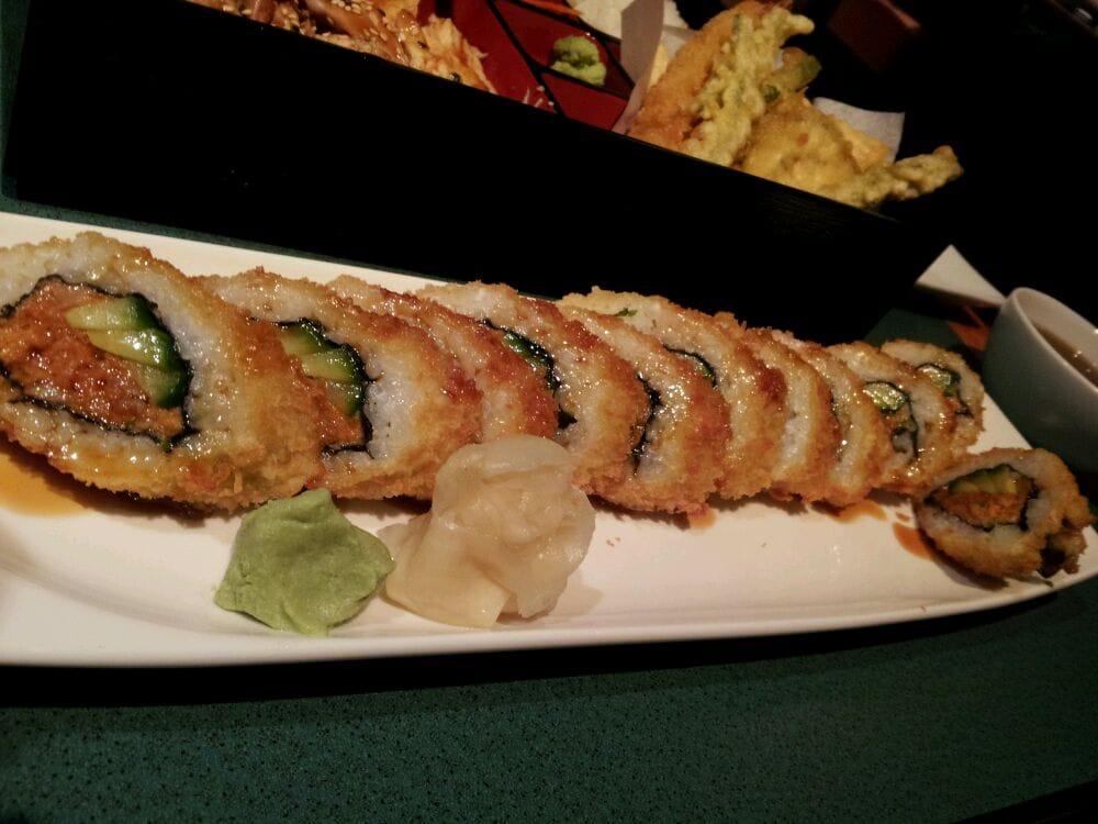 Deep fried spicy tuna roll - Yelp