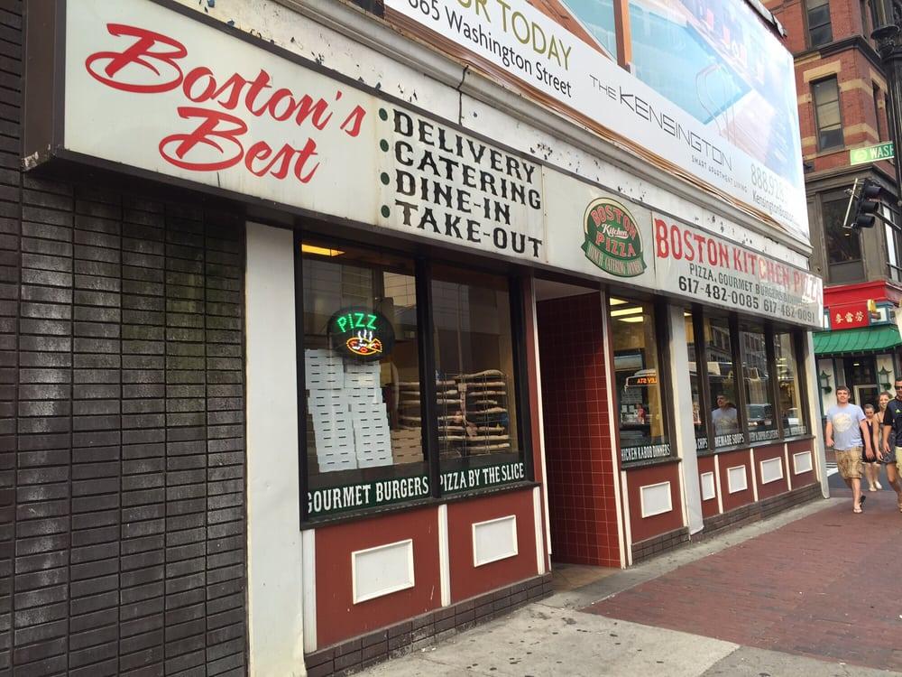 Photos For Boston Kitchen Pizza Yelp