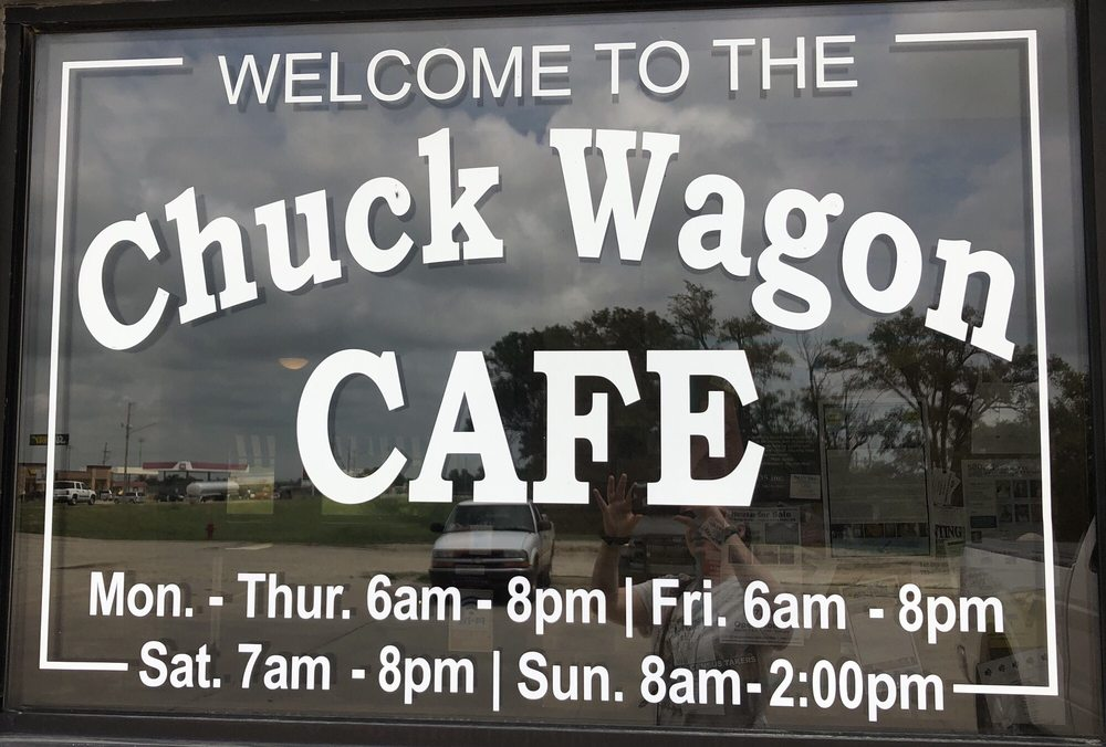 Chuck Wagon Cafe: 521 E 7th St, Strong City, KS