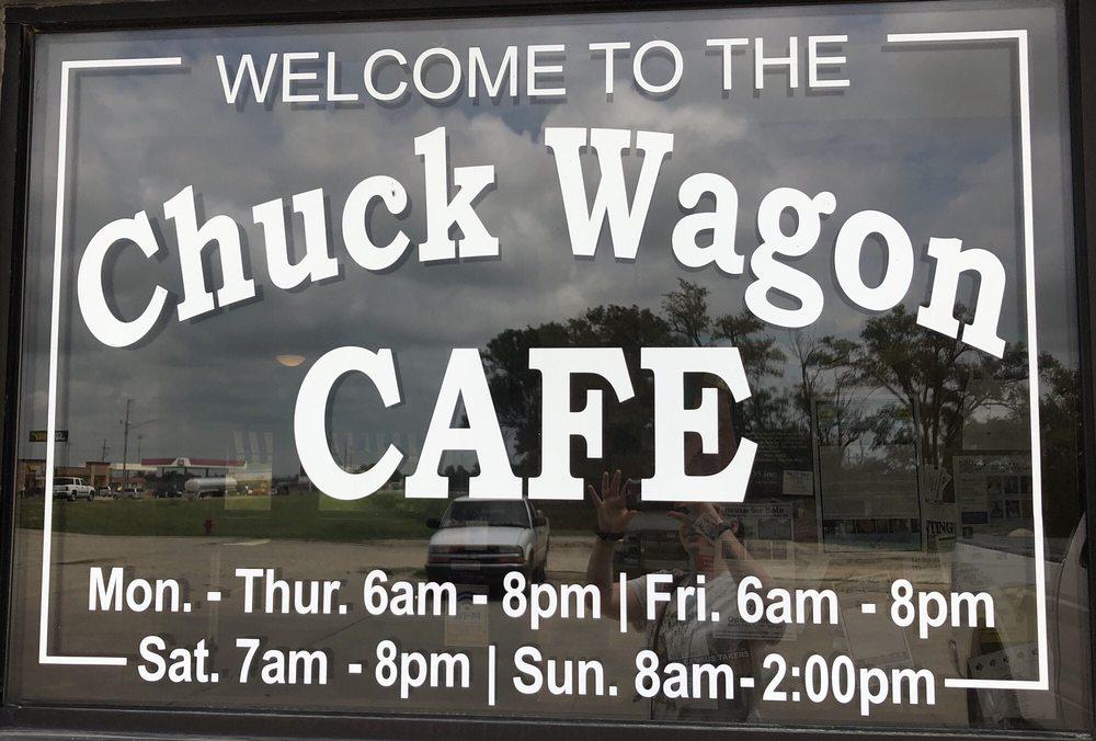 Chuck Wagon Cafe: 521 E 7th St, Strong City, KS
