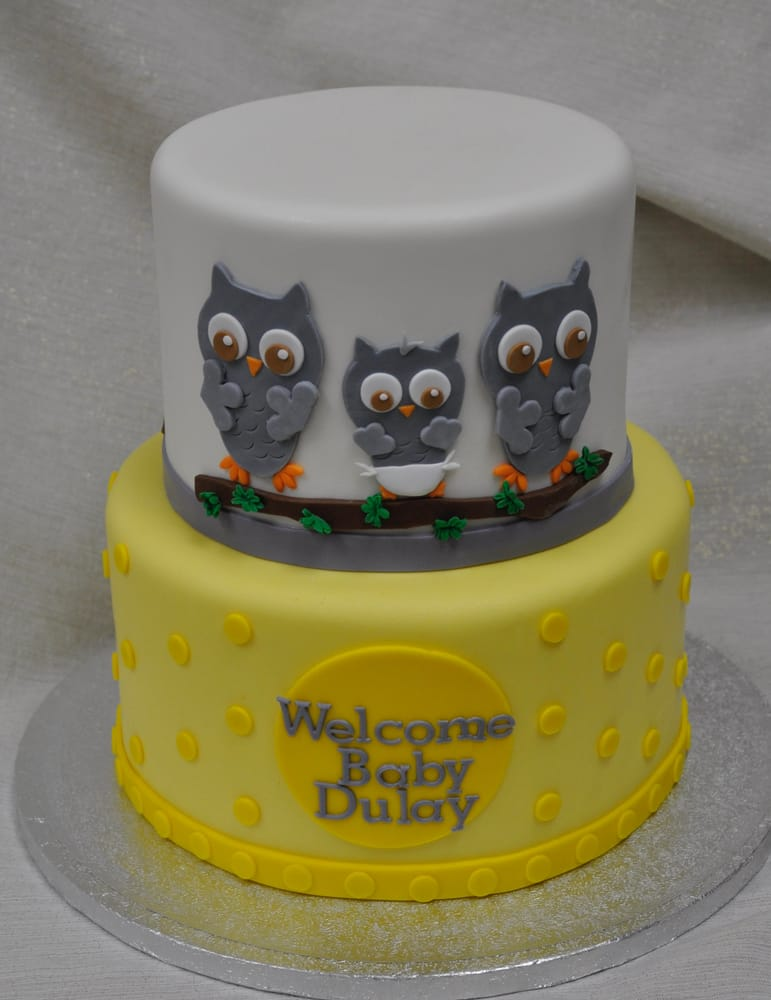 cakes san diego ca united states owl themed baby shower cake