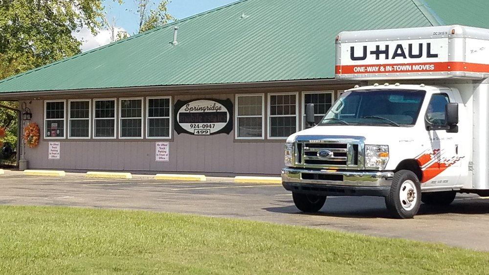 U-Haul Neighborhood Dealer: 499 Springridge Rd, Clinton, MS
