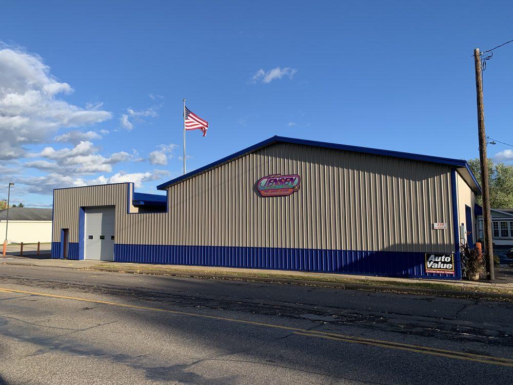 Jensen Towing & Repair: 139 W Main St, Hixton, WI