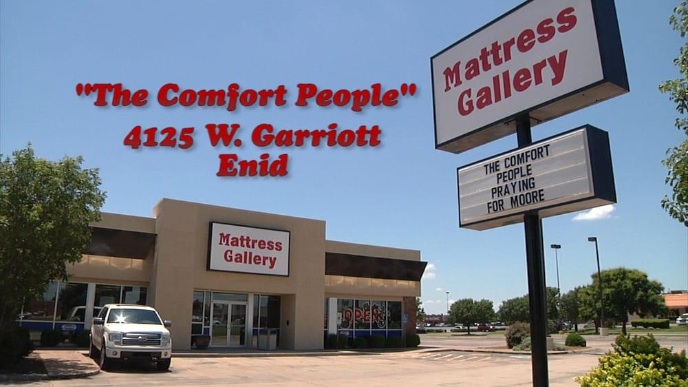 Mattress Gallery: 4125 W Owen K Garriott, Enid, OK