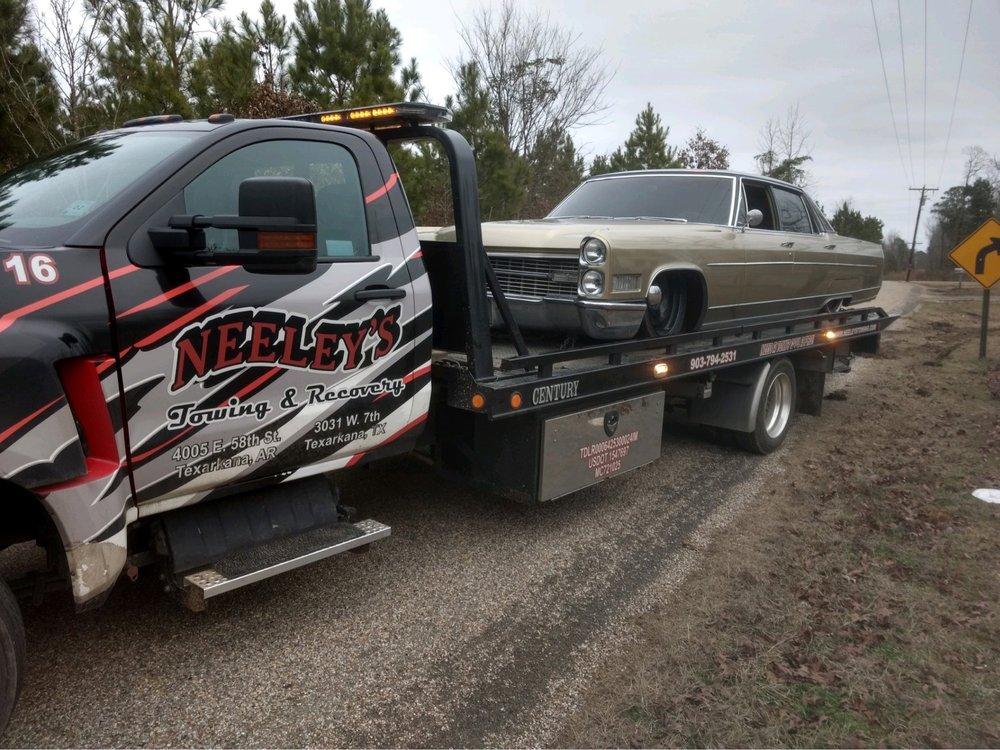 Neeley's Towing & Recovery: 4005 E 58th St, Texarkana, AR