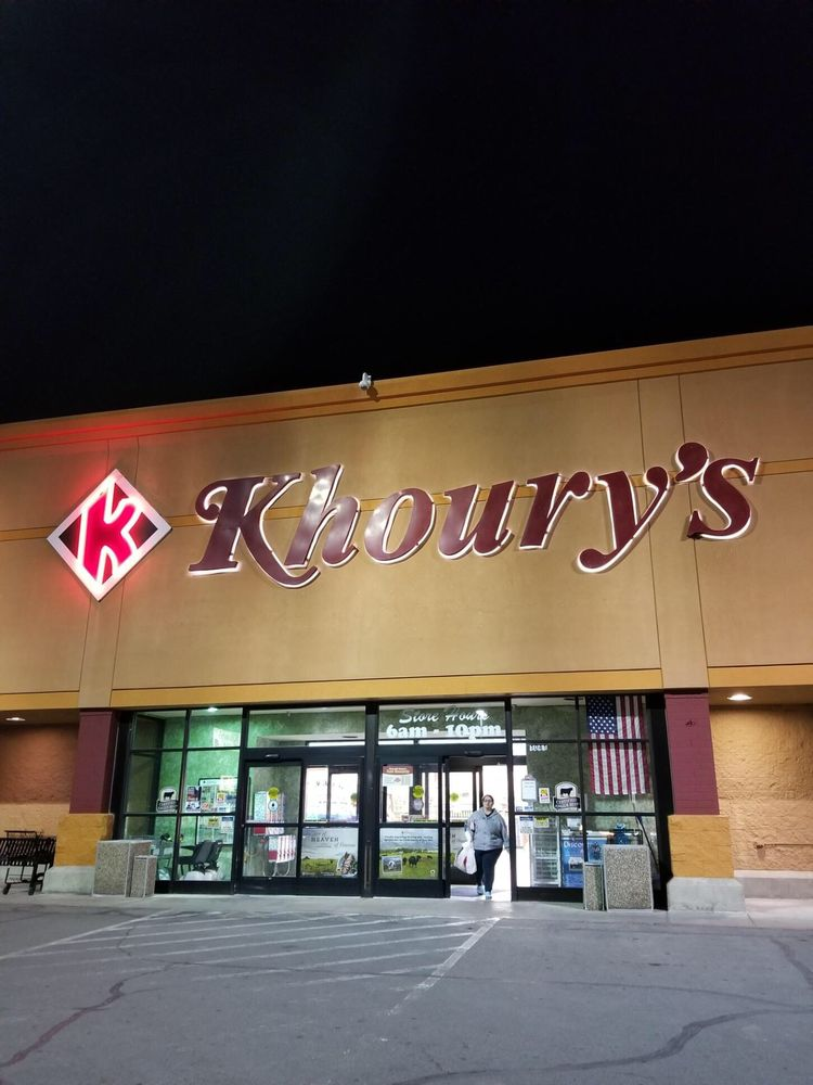 Khoury's Marketplace: 1041 Grass Valley Rd, Winnemucca, NV