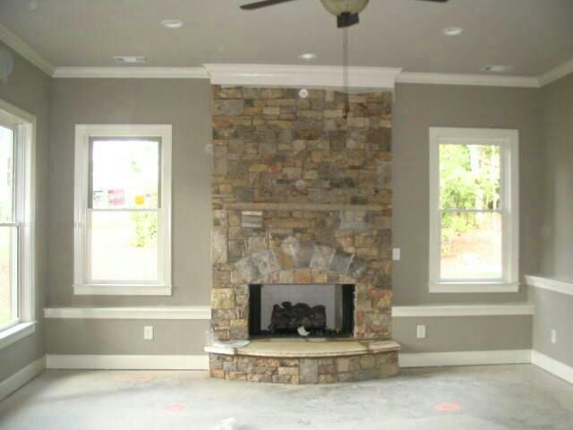 drybrushing q rock painting fireplace mantle lava hometalk fireplaces before a mantels wall