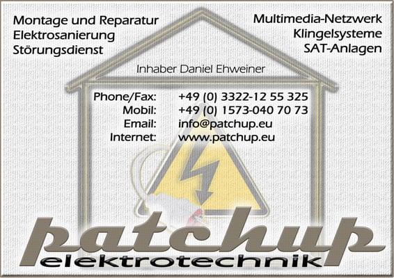 Elektriker Falkensee patchup elektrotechnik elektriker trappenweg 20a falkensee