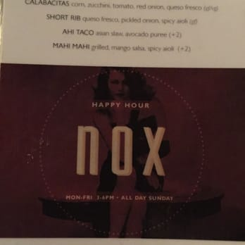 Nox Kitchen + Cocktails - CLOSED - 2019 All You Need to Know