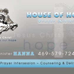 House of Hope Prayer and Deliverance Ministry - Churches